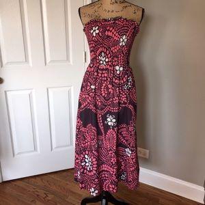 Marimekko by Anthropologie Strapless Long Dress 2